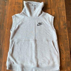 Grey oversized Nike sweatshirt